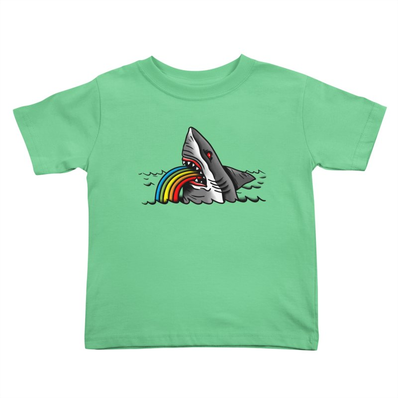Great white balance Kids Toddler T-Shirt by biernatt's Artist Shop