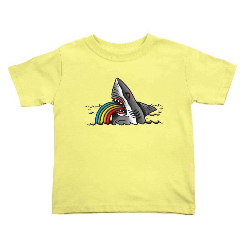 Great white balance Kids Toddler T-Shirt by biernatt's Artist Shop