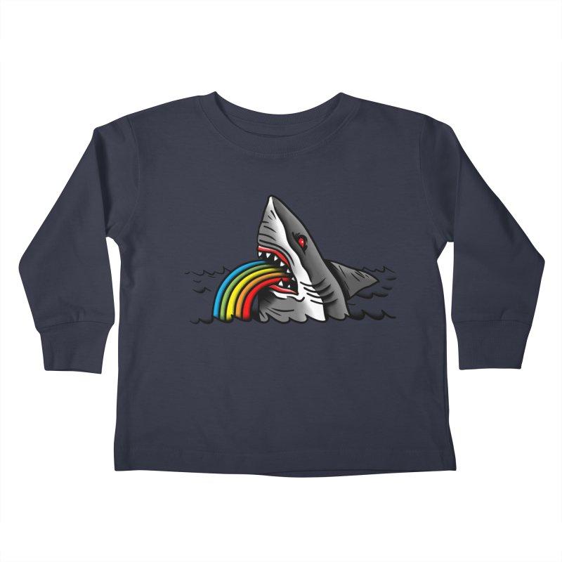 Great white balance Kids Toddler Longsleeve T-Shirt by biernatt's Artist Shop