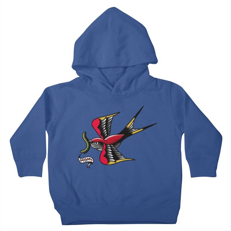 Swallow! Don't! Kids Toddler Pullover Hoody by biernatt's Artist Shop