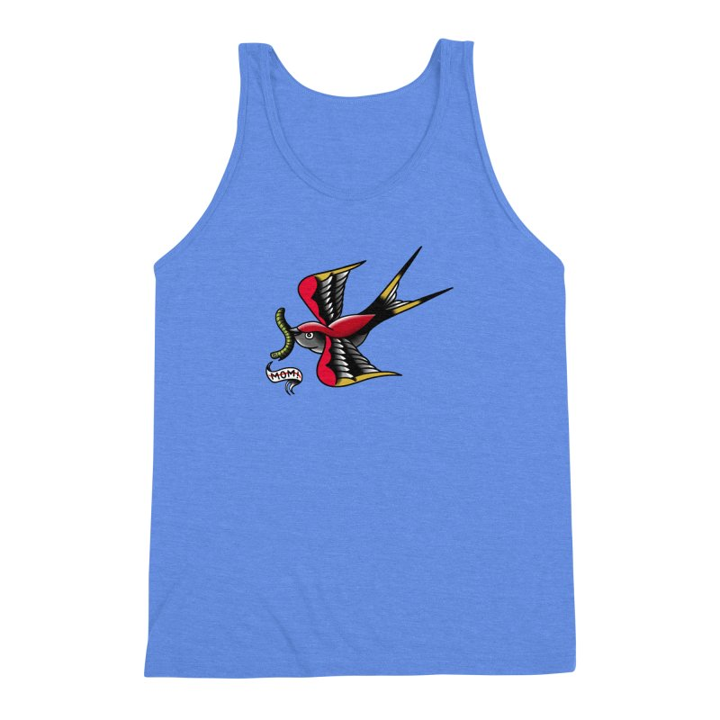 Swallow! Don't! Men's Triblend Tank by biernatt's Artist Shop