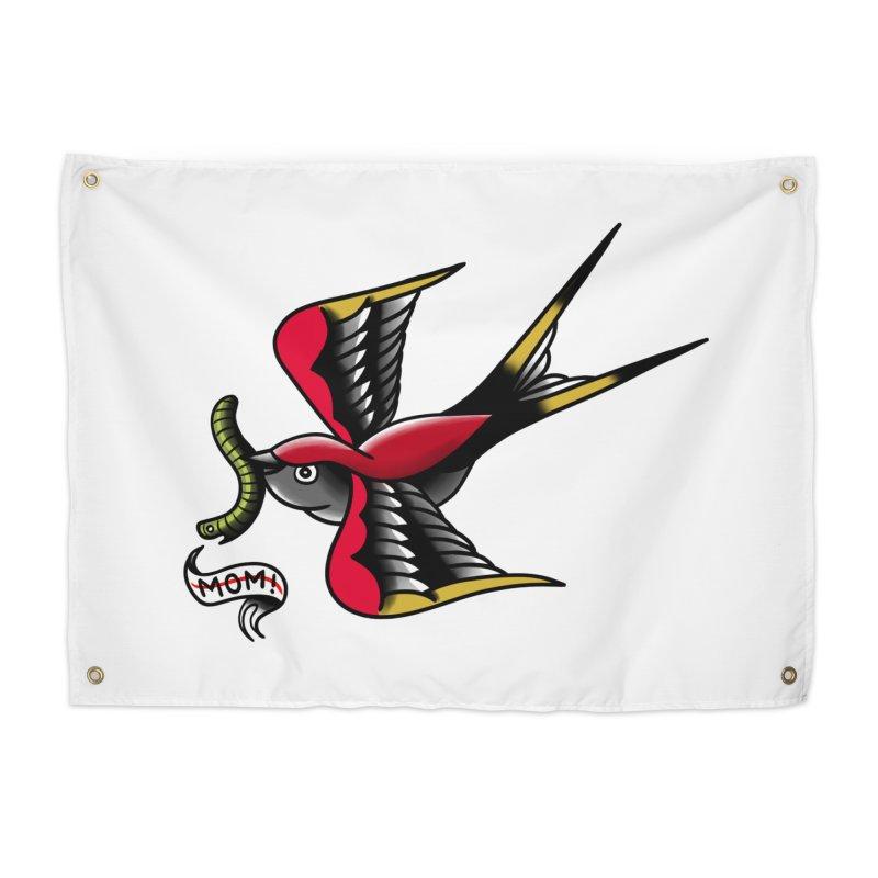 Swallow! Don't! Home Tapestry by biernatt's Artist Shop