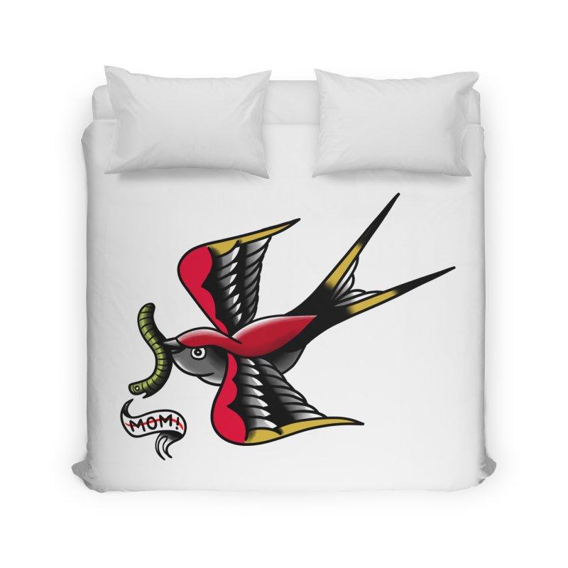 Swallow! Don't! Home Duvet by biernatt's Artist Shop