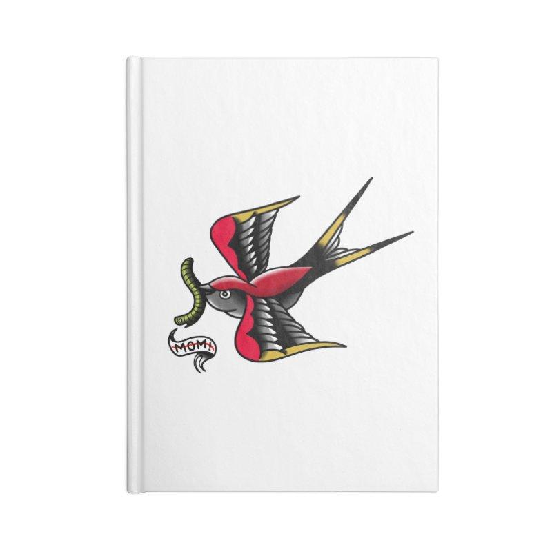 Swallow! Don't! Accessories Lined Journal Notebook by biernatt's Artist Shop