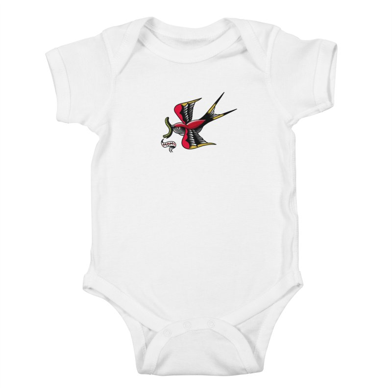 Swallow! Don't! Kids Baby Bodysuit by biernatt's Artist Shop