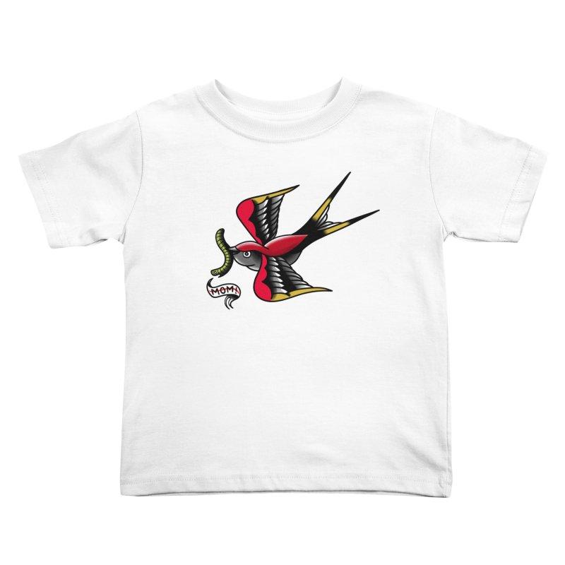 Swallow! Don't! Kids Toddler T-Shirt by biernatt's Artist Shop