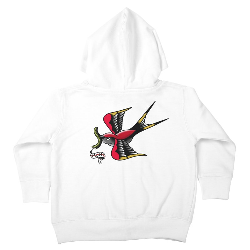 Swallow! Don't! Kids Toddler Zip-Up Hoody by biernatt's Artist Shop