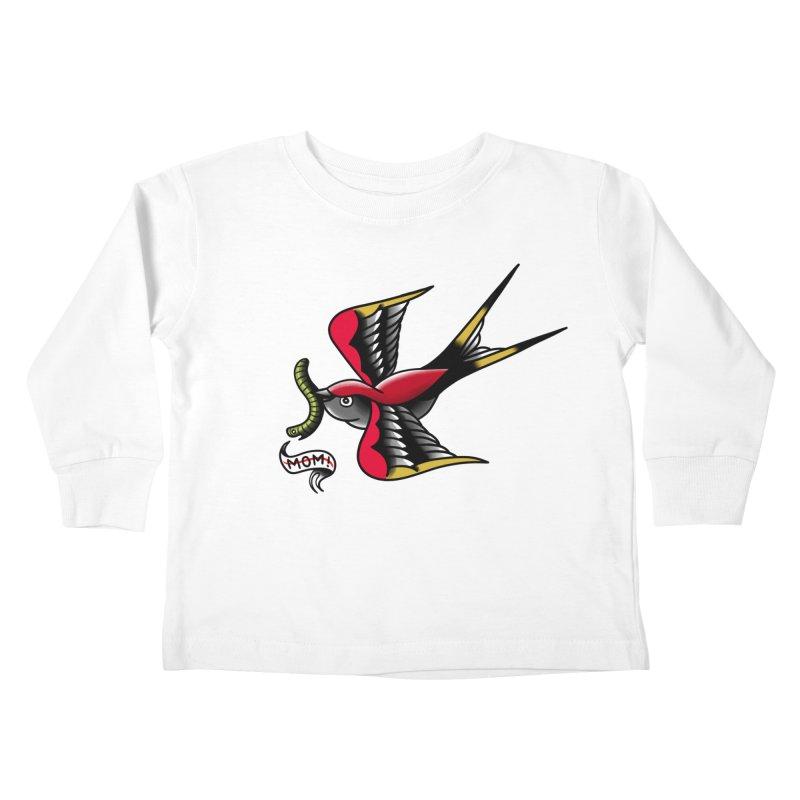 Swallow! Don't! Kids Toddler Longsleeve T-Shirt by biernatt's Artist Shop