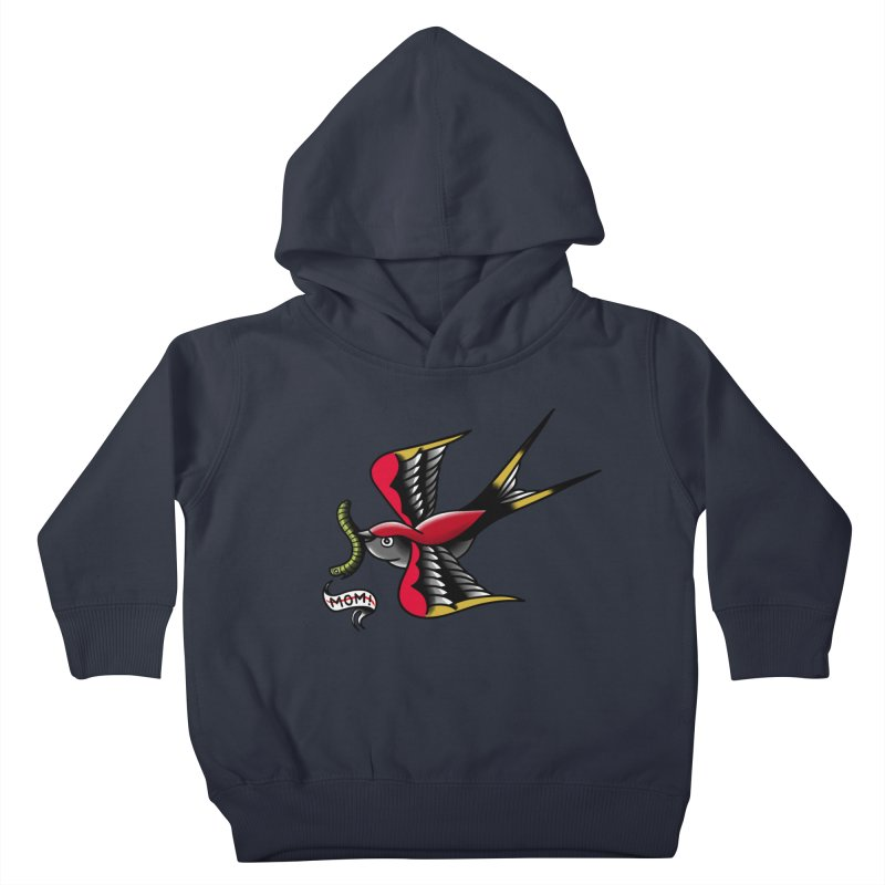 Swallow! Don't! Kids Toddler Pullover Hoody by biernatt's Artist Shop