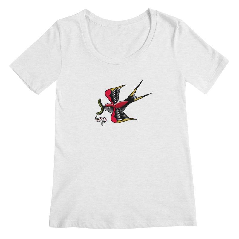 Swallow! Don't! Women's Regular Scoop Neck by biernatt's Artist Shop