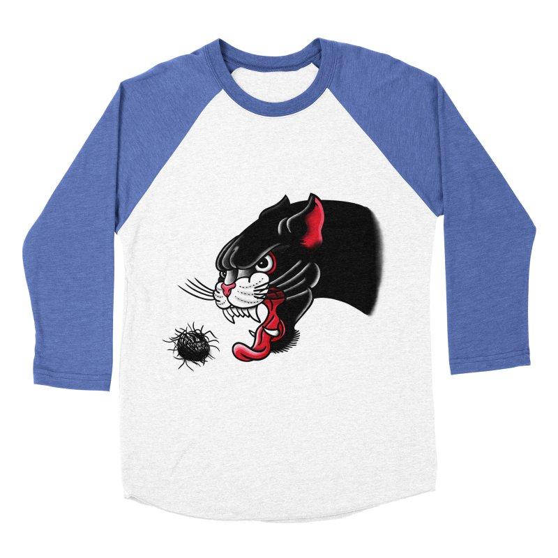 Furball fury Men's Baseball Triblend T-Shirt by biernatt's Artist Shop
