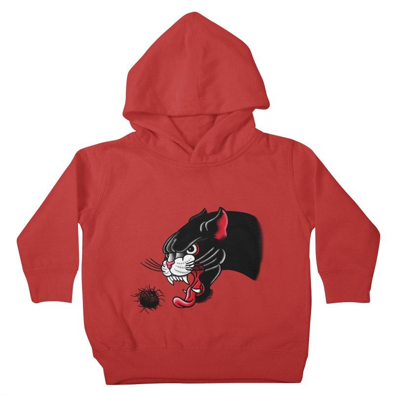 Furball fury Kids Toddler Pullover Hoody by biernatt's Artist Shop