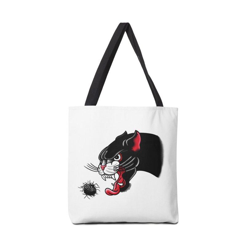 Furball fury Accessories Bag by biernatt's Artist Shop