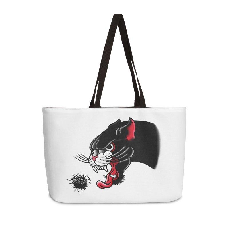 Furball fury Accessories Weekender Bag Bag by biernatt's Artist Shop