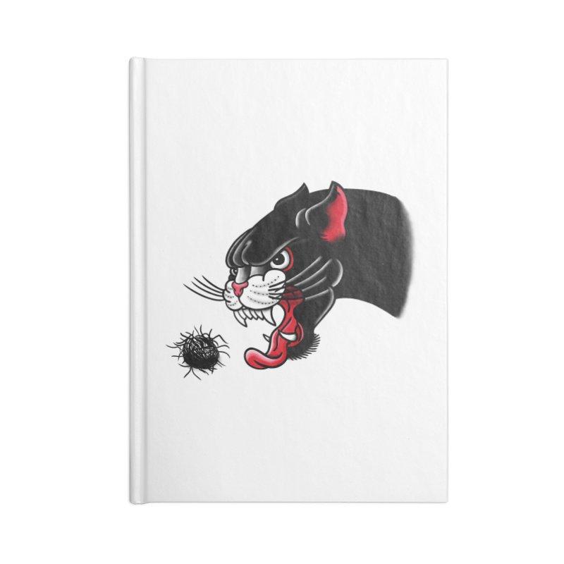 Furball fury Accessories Lined Journal Notebook by biernatt's Artist Shop