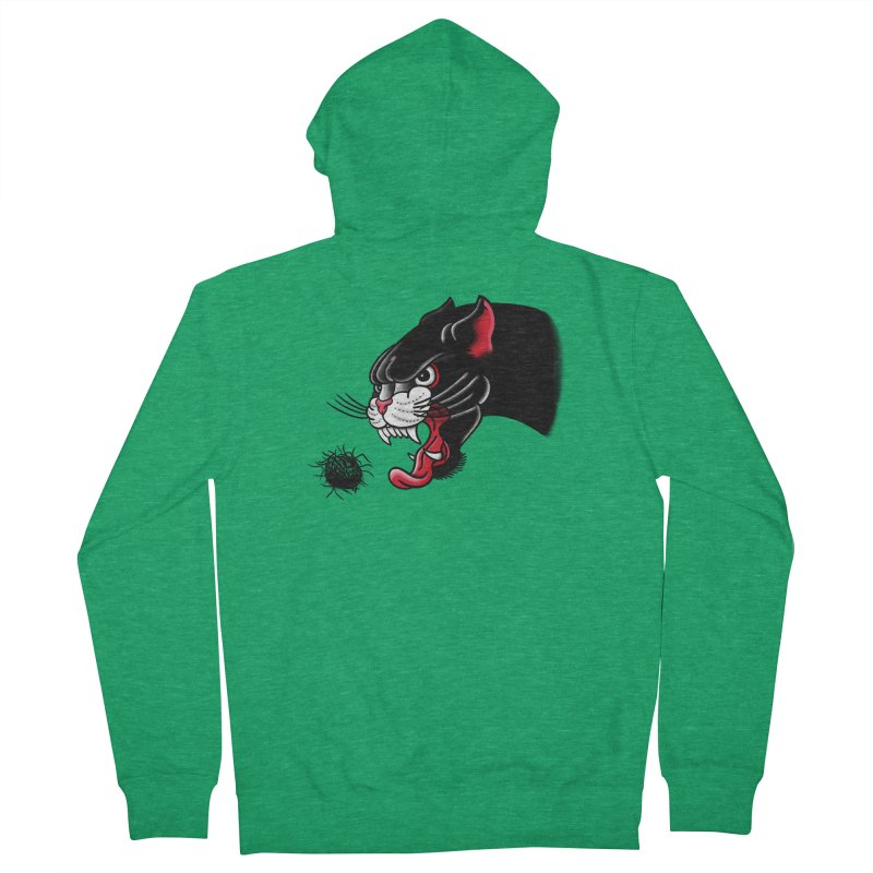 Furball fury Men's French Terry Zip-Up Hoody by biernatt's Artist Shop