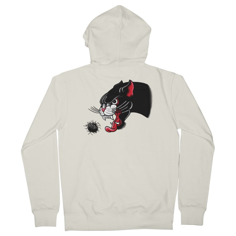 Furball fury Men's Zip-Up Hoody by biernatt's Artist Shop