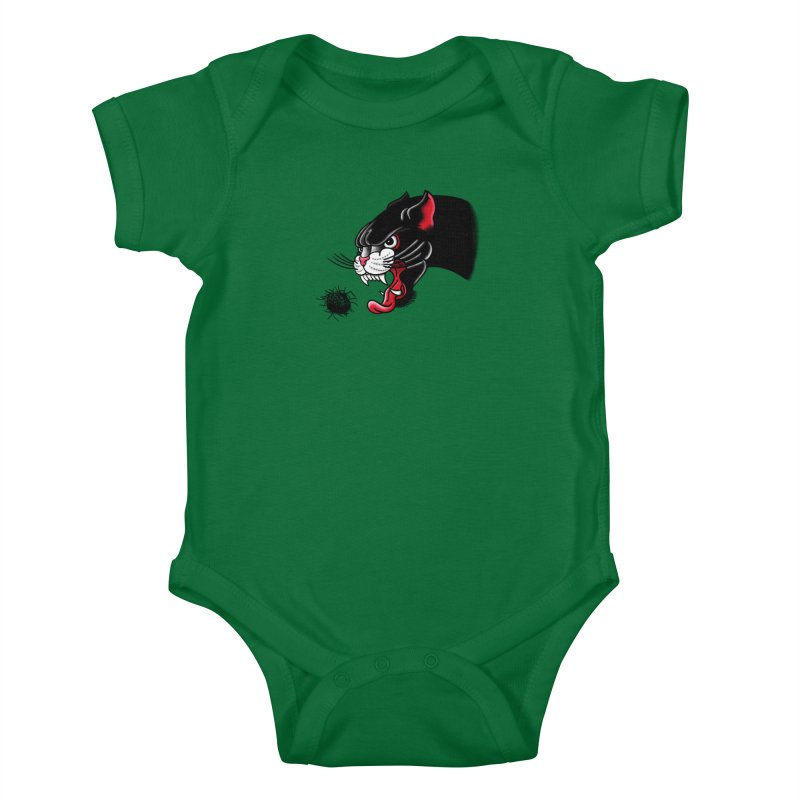 Furball fury Kids Baby Bodysuit by biernatt's Artist Shop