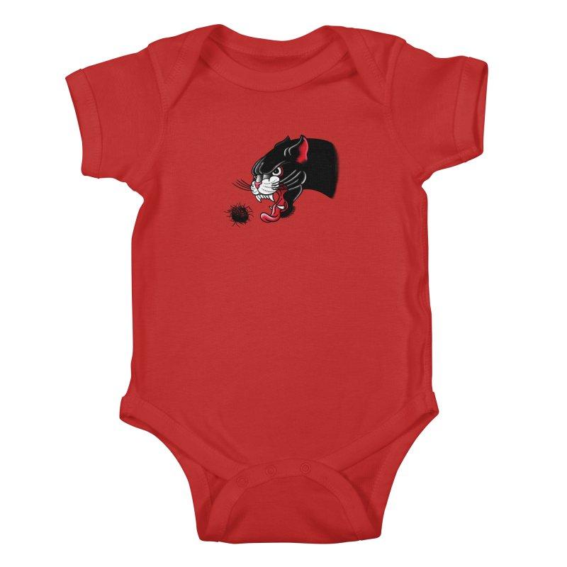 Furball fury Kids Baby Bodysuit by biernatt's Artist Shop