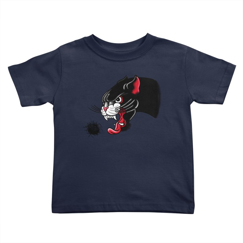 Furball fury Kids Toddler T-Shirt by biernatt's Artist Shop