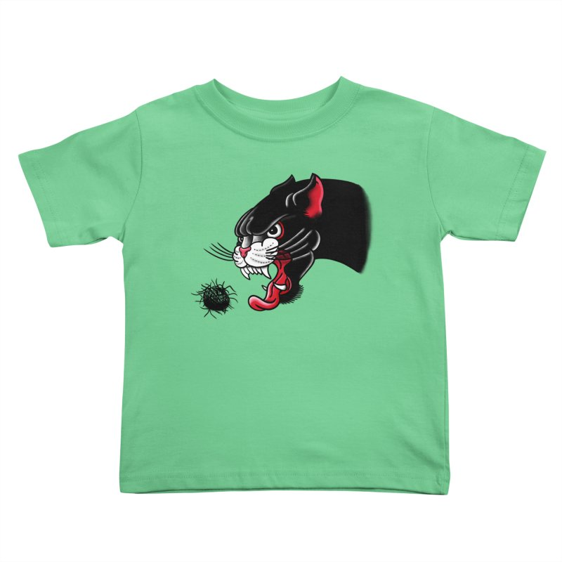 Furball fury Kids Toddler T-Shirt by biernatt's Artist Shop