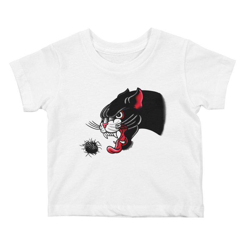 Furball fury Kids Baby T-Shirt by biernatt's Artist Shop