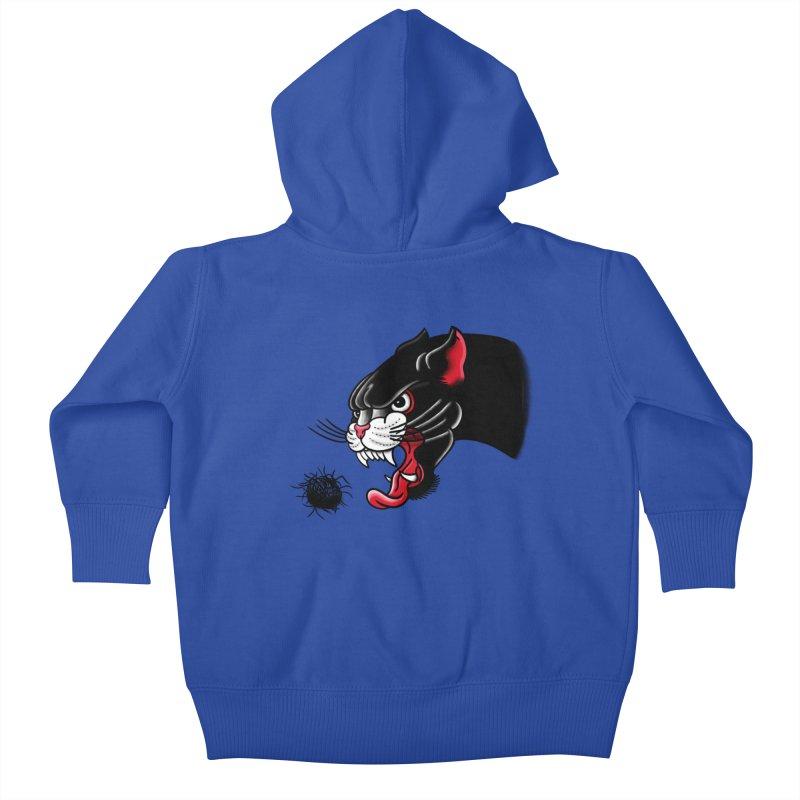 Furball fury Kids Baby Zip-Up Hoody by biernatt's Artist Shop