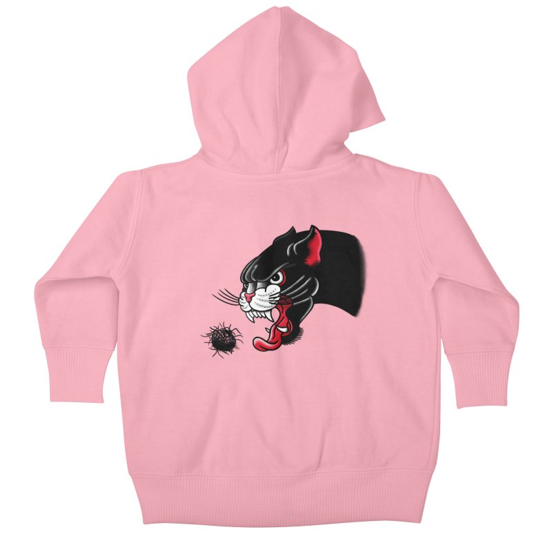 Furball fury Kids Baby Zip-Up Hoody by biernatt's Artist Shop