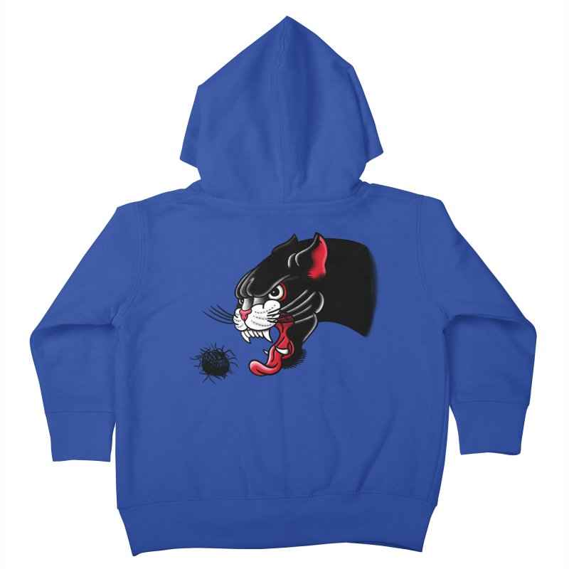 Furball fury Kids Toddler Zip-Up Hoody by biernatt's Artist Shop