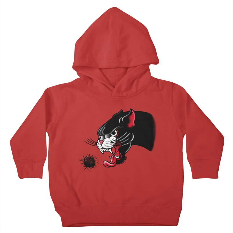 Furball fury Kids Toddler Pullover Hoody by biernatt's Artist Shop