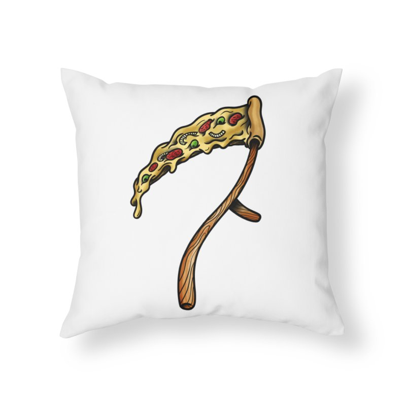 Slice & die Home Throw Pillow by biernatt's Artist Shop