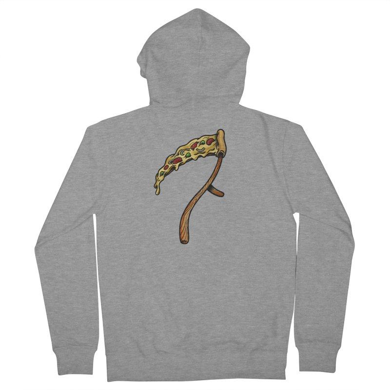 Slice & die Men's Zip-Up Hoody by biernatt's Artist Shop
