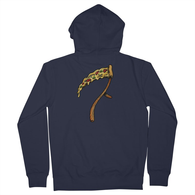 Slice & die Men's French Terry Zip-Up Hoody by biernatt's Artist Shop