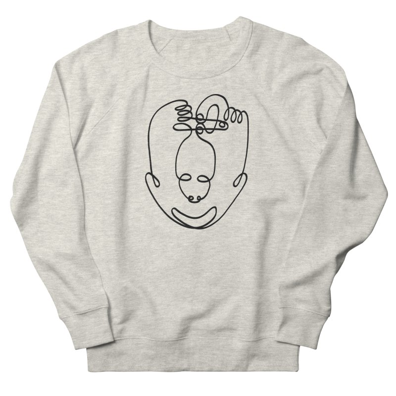 Busy hands idle mind Men's Sweatshirt by biernatt's Artist Shop