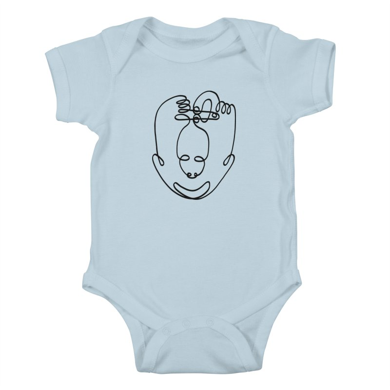 Busy hands idle mind Kids Baby Bodysuit by biernatt's Artist Shop