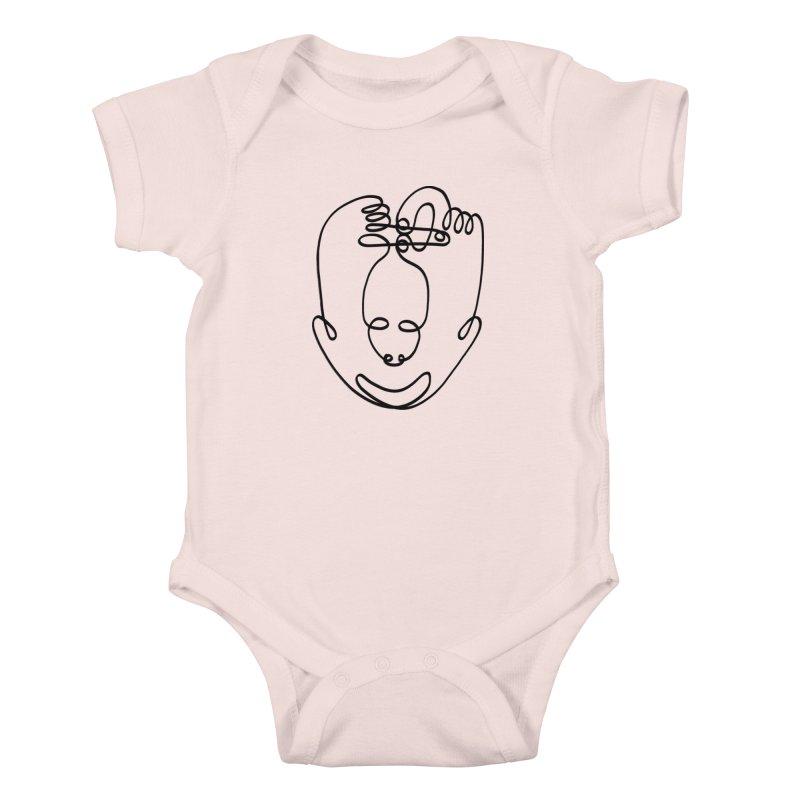 Busy hands idle mind Kids Baby Bodysuit by biernatt's Artist Shop