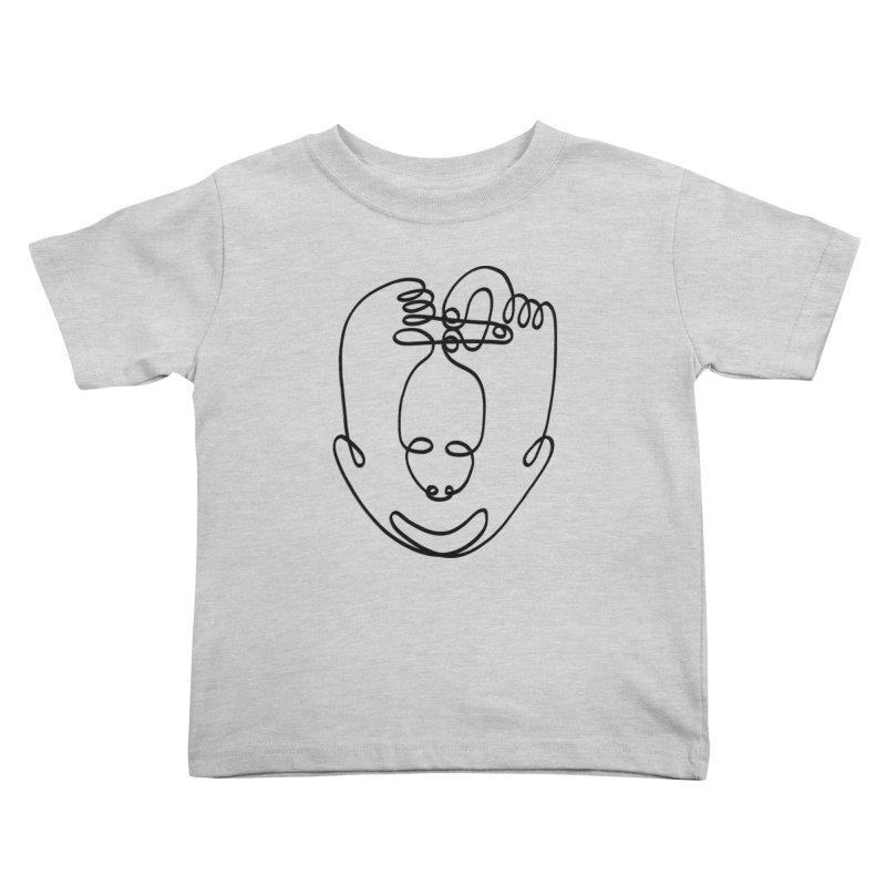 Busy hands idle mind Kids Toddler T-Shirt by biernatt's Artist Shop