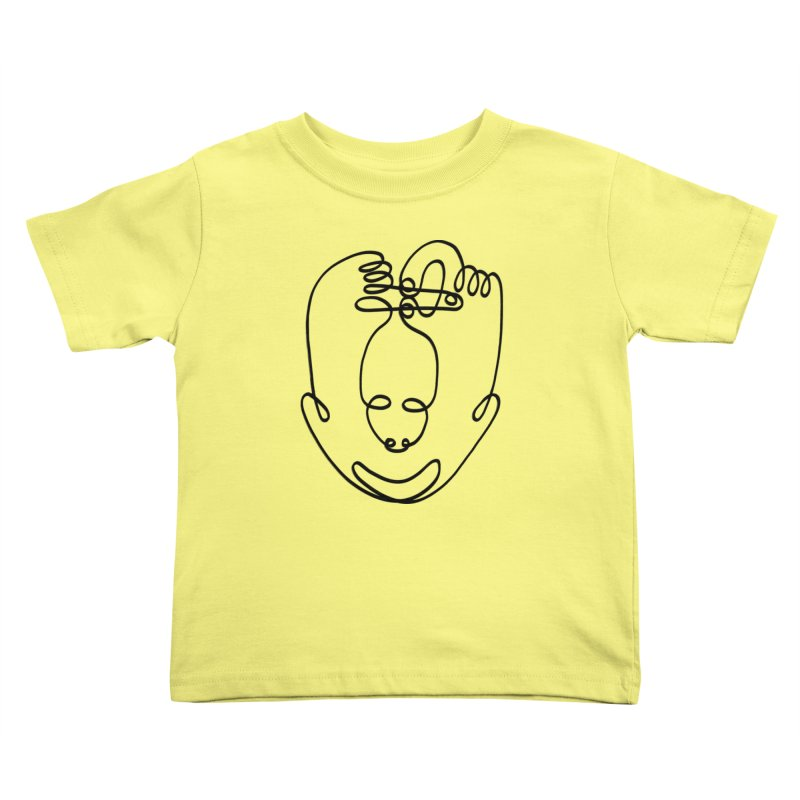 Busy hands idle mind Kids Toddler T-Shirt by biernatt's Artist Shop