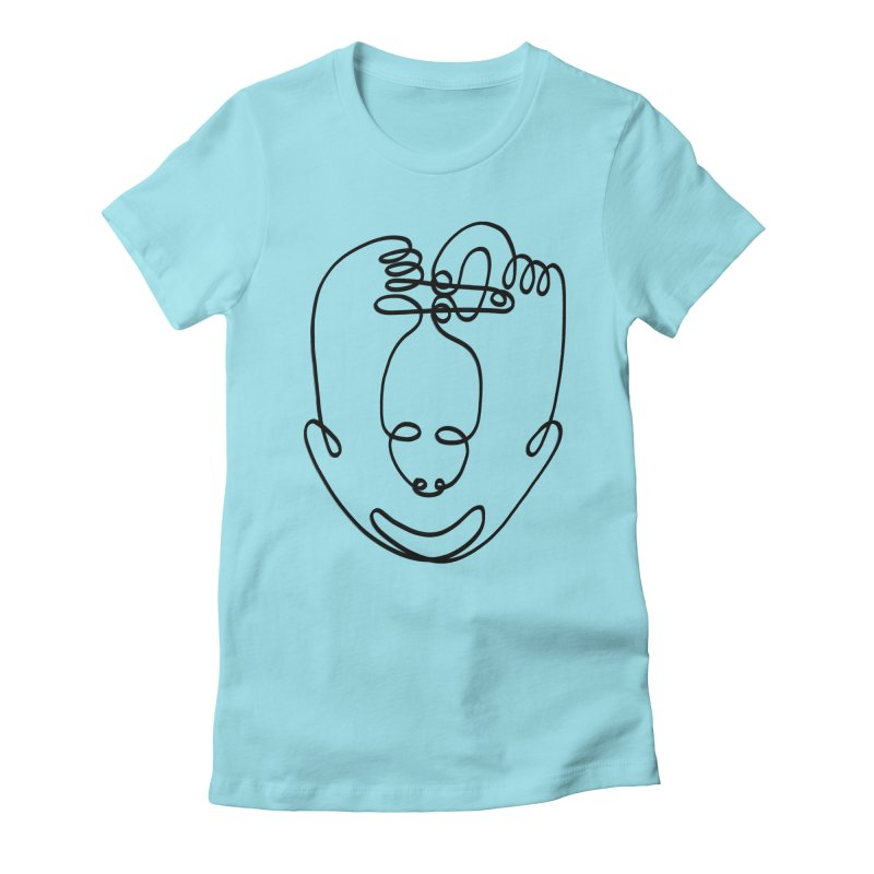 Busy hands idle mind Women's Fitted T-Shirt by biernatt's Artist Shop