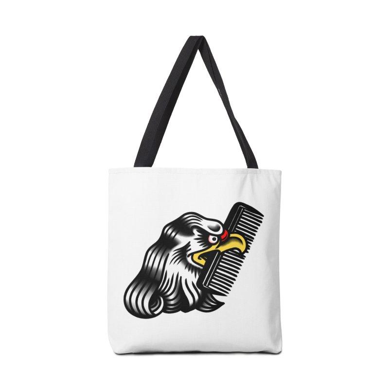 Boldly not bald Accessories Bag by biernatt's Artist Shop