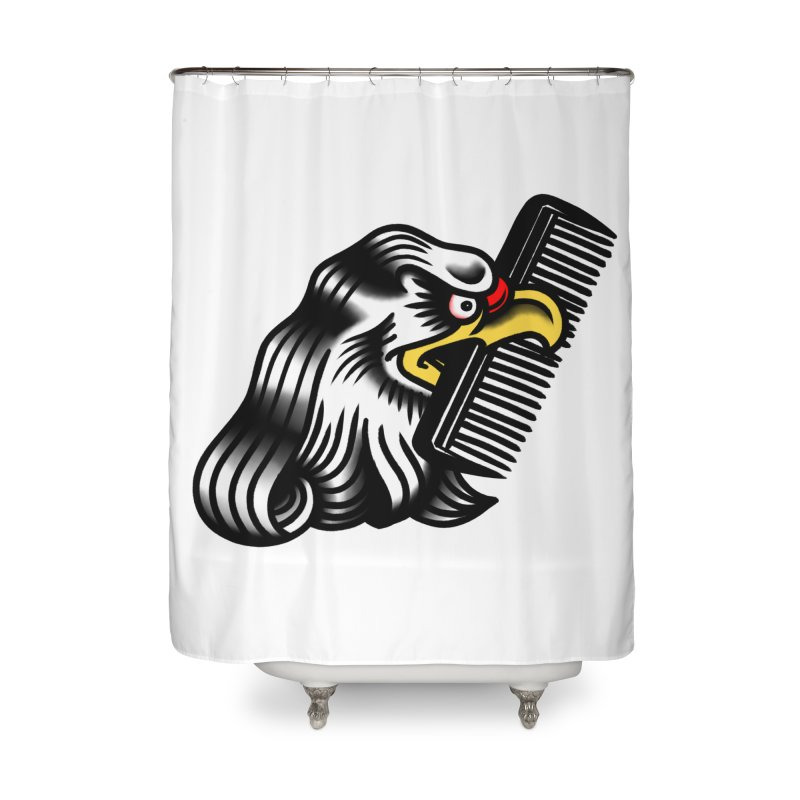 Boldly not bald Home Shower Curtain by biernatt's Artist Shop
