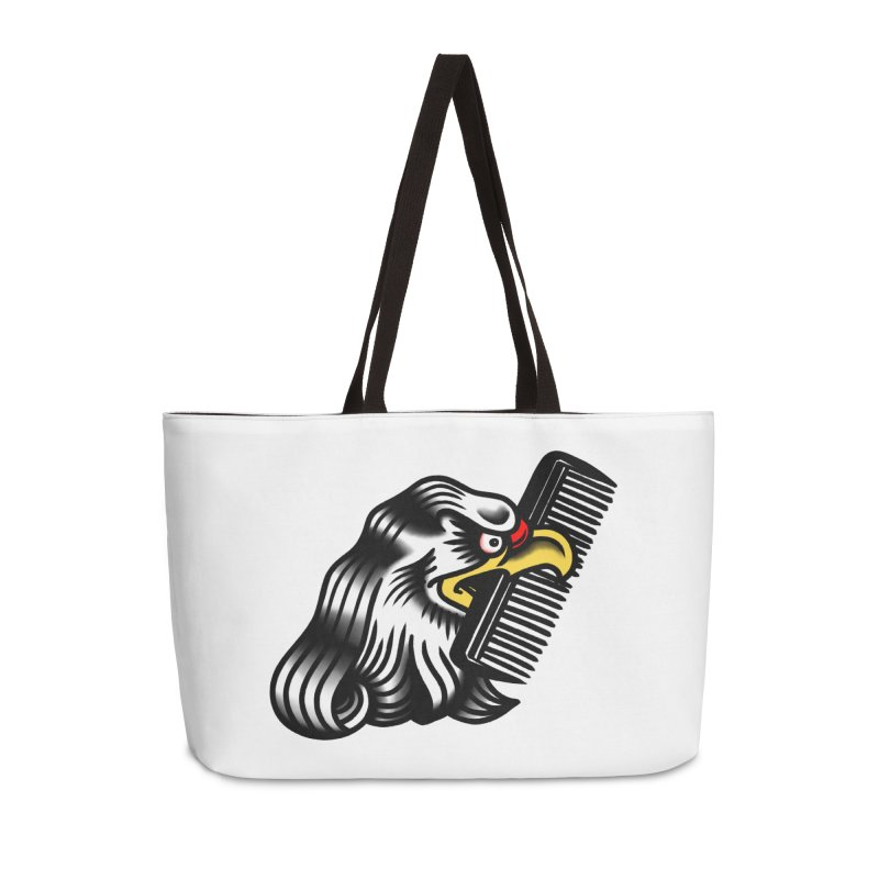 Boldly not bald Accessories Weekender Bag Bag by biernatt's Artist Shop