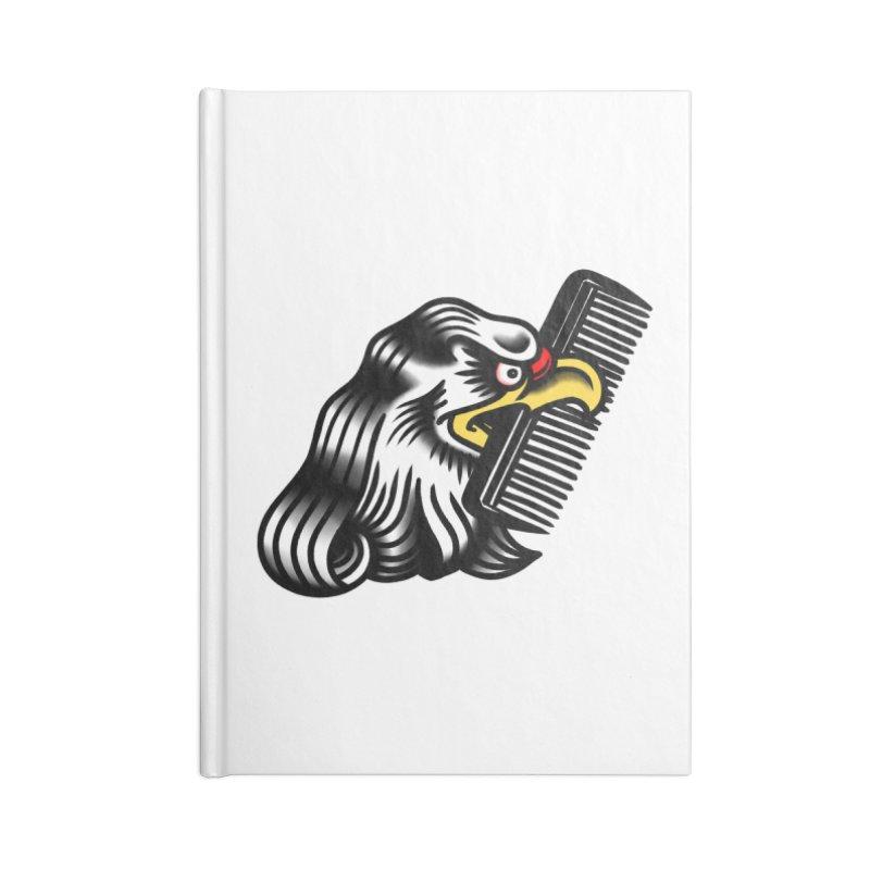 Boldly not bald Accessories Lined Journal Notebook by biernatt's Artist Shop