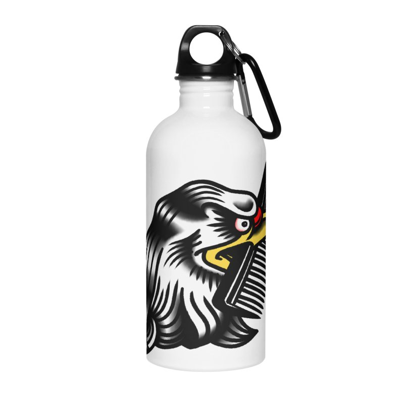 Boldly not bald Accessories Water Bottle by biernatt's Artist Shop