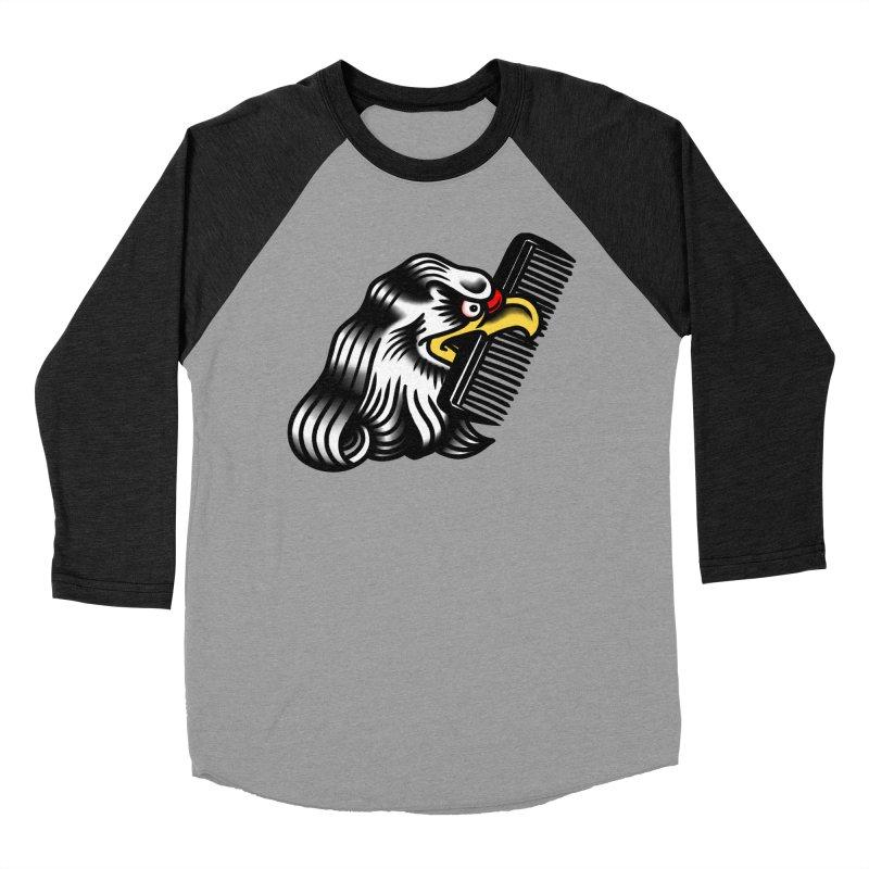Boldly not bald Men's Baseball Triblend T-Shirt by biernatt's Artist Shop