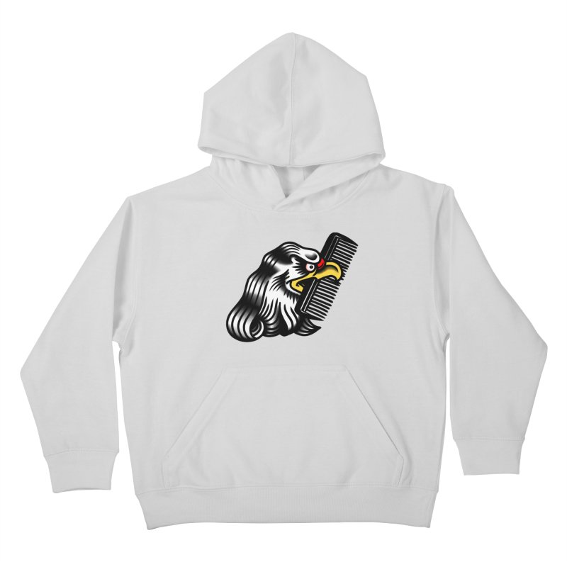 Boldly not bald Kids Pullover Hoody by biernatt's Artist Shop