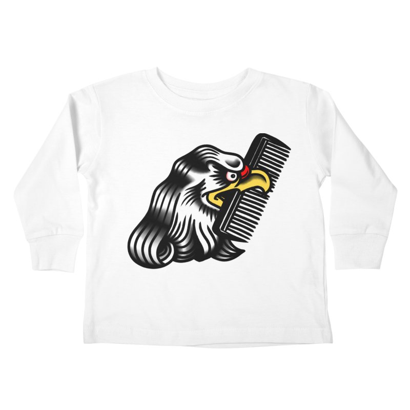 Boldly not bald Kids Toddler Longsleeve T-Shirt by biernatt's Artist Shop
