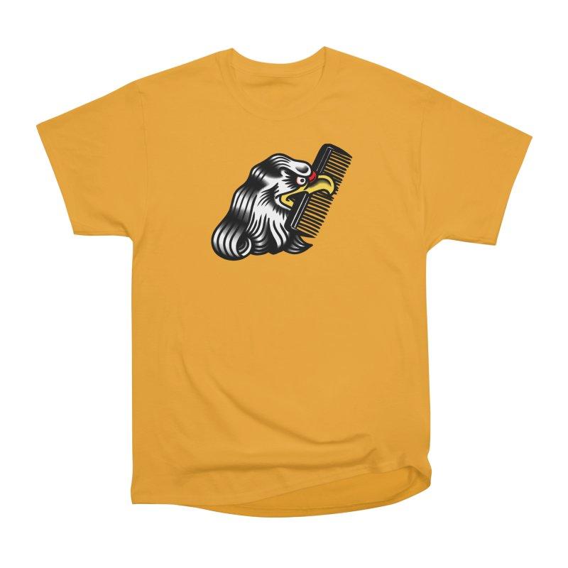 Boldly not bald Women's Heavyweight Unisex T-Shirt by biernatt's Artist Shop