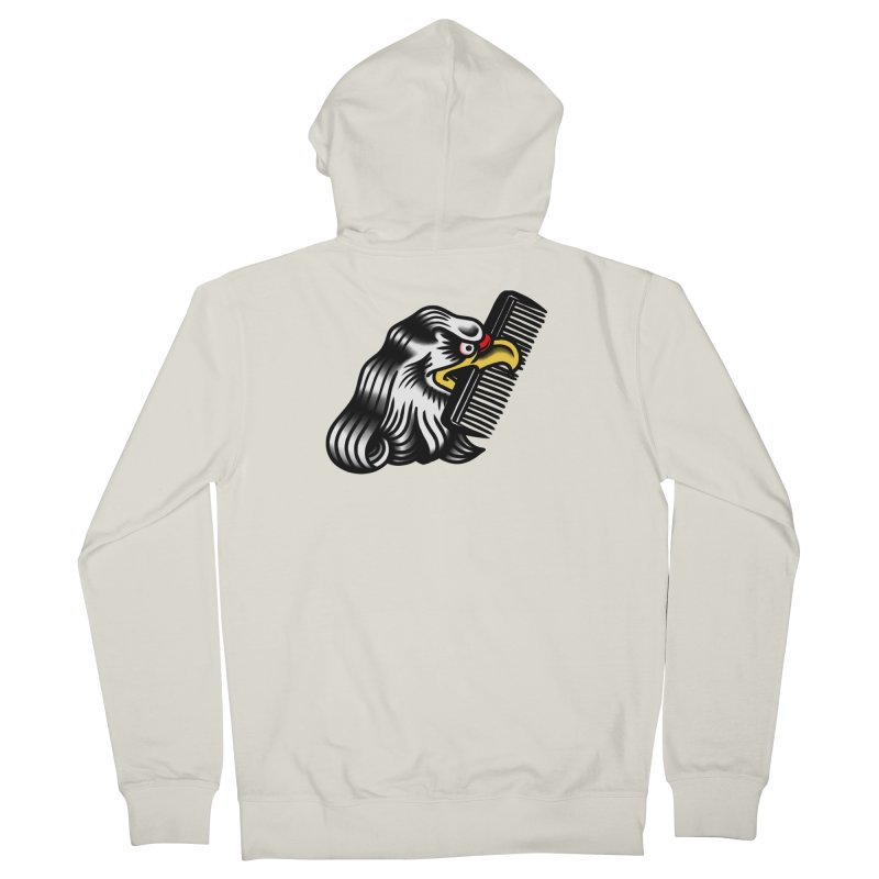 Boldly not bald Men's French Terry Zip-Up Hoody by biernatt's Artist Shop