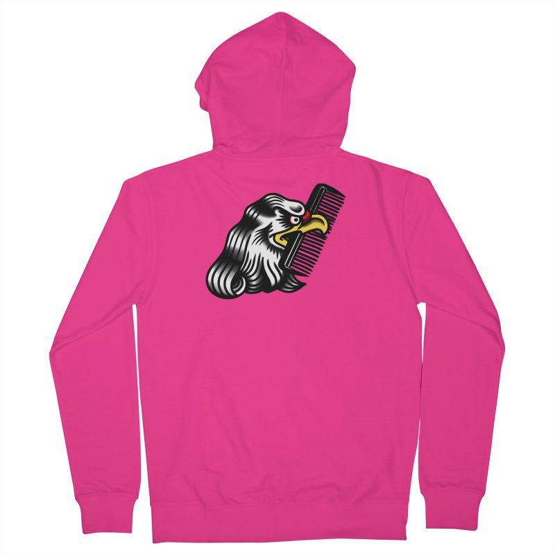 Boldly not bald Men's Zip-Up Hoody by biernatt's Artist Shop